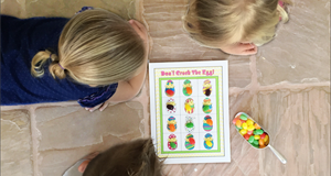 "Printable Easter Games ""Don't Crack The Egg"""