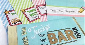 "Printable Candy Bar Wrappers ""Teacher's Pet"""