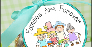 Families Are Forever Printable Tag