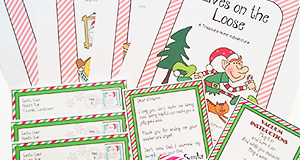 "Online Treasure Hunt Ideas ""Elves On The Loose"""