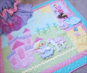 Paper Doll Quilt Patterns Castle