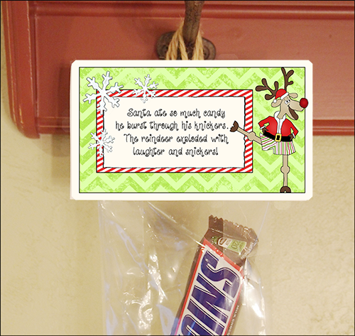 Christmas Party Favors Candy Sayings Quot Santa S Knickers