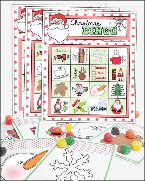 photo regarding Christmas Bingo Printable identified as Printable Bingo Match Xmas