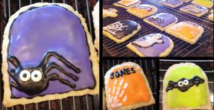 """Halloween Treat Ideas """"Spook Tarts"""""""