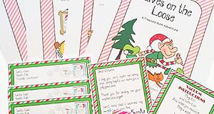 """Online Treasure Hunt Ideas """"Elves On The Loose"""""""