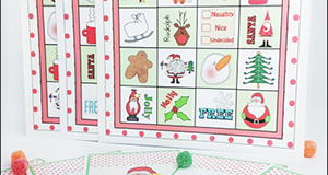"Christmas Game Idea ""Christmas Bingo"""
