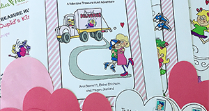 Catch Cupid's Kisses Treasure Hunt Activity