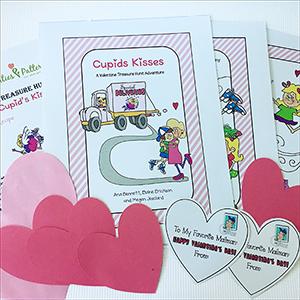 Catch Cupid's Kisses Treasure Hunt Activity