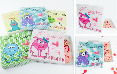 Valentine Cookie/Candy Boxes