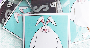 "Printable Easter Candy Pocket ""Fat Bunny"""