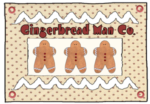 """""""Gingerbread & Co."""" Party Package"""
