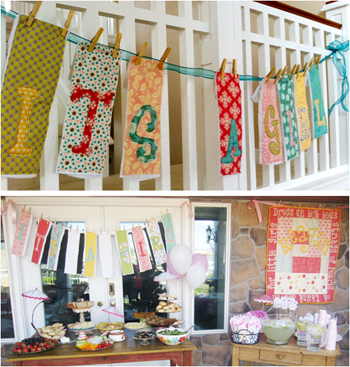 diy baby shower gift ideas it s a girl banner