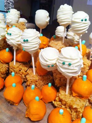 "Halloween Food Ideas ""Haunted Pumpkin Patch"""