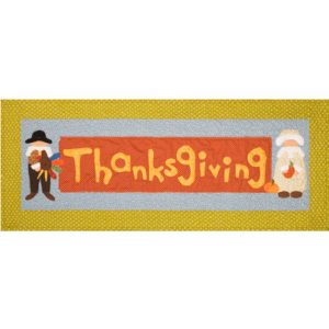 Table Runner Thanksgiving