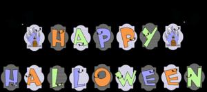"Printable Banner ""Halloween Haunted House"""