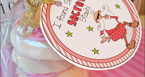 "Printable Tag ""I Found Santa's SECRET Stash"