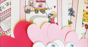 """Cupid's Kisses"" Downloadable Treasure Hunt"