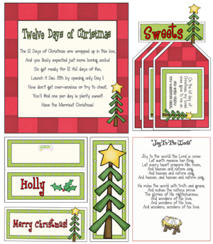 "12 Days of Christmas Gift Ideas ""For Missionaries"""