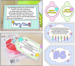 "Missionary Ideas ""Birthday Party In A Box"""