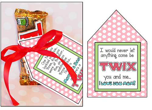 Mother Ideas Candy Sayings Twix Are Perfect For Mothers Day