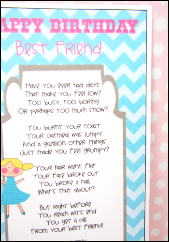 Homemade Gift Ideas Ten Presents For My Best Friend Fun Birthday