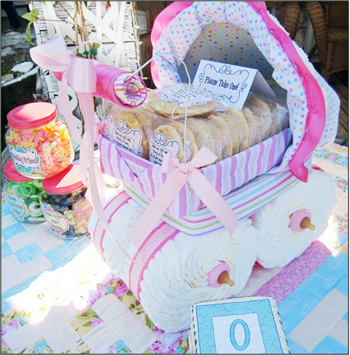 Baby Shower Gift Ideas Diaper Carriage