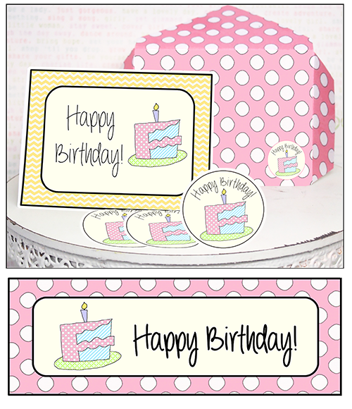 image about Printable Minis identified as Birthday Printable Mini-Reward-Playing cards \