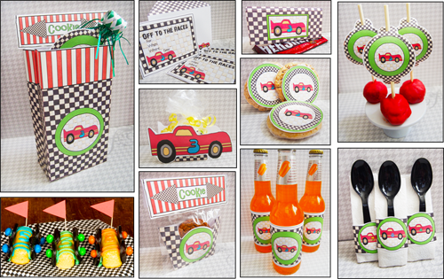 Fun Party Ideas Race Car