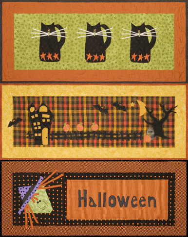 halloween quilt patterns witchy table runner quilt