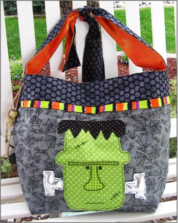 trick or treat bag pattern halloween ideas