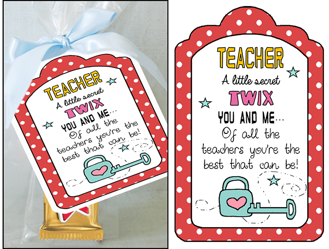Teacher Appreciation Twix Candy Sayings Parties And Patterns